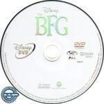 The BFG (2016) R4 DVD Label