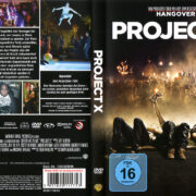 Project X (2012) R2 German DVD Cover and Label