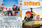 Storks (2016) R1 Custom DVD Cover