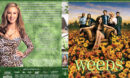 Weeds - Season 2 - part of a spanning spine set (2007) R1 Custom Cover