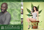 Weeds – Season 4 – part of a spanning spine set (2009) R1 Custom Cover