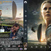 Arrival (2016) R1 CUSTOM DVD Cover