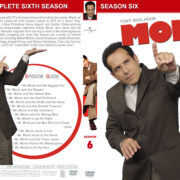 Monk – Season 6 (part of a spanning spine set) (2007) R1 Custom Cover