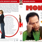 Monk – Season 7 (part of a spanning spine set) (2008) R1 Custom Cover