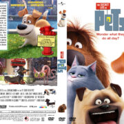 The Secret Life of Pets (2016) R1 Custom Cover