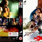 xXx: Return of Xander Cage (2017) R2 Custom Blu-Ray Cover