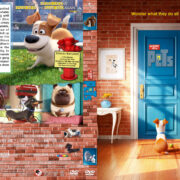 The Secret Life of Pets (2016) R1 Custom Cover & Label