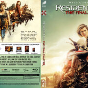 Resident Evil The Final Chapter (2016) R2 German Custom Blu-Ray Cover & Labels