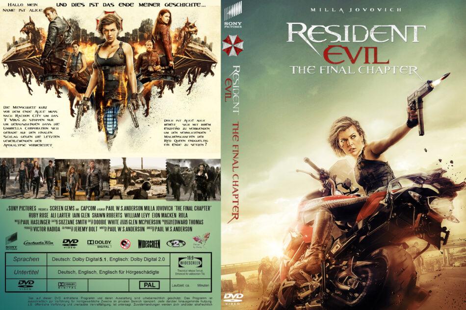 Resident Evil The Final Chapter Deutsch