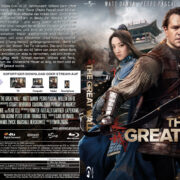 The Great Wall (2017) R2 German Custom Blu-Ray Cover & Labels