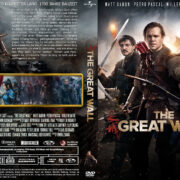 The Great Wall (2017) R2 German Custom Cover & labels
