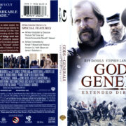 Gods And Generals (2003) R1 Blu-Ray Cover & Label