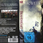 Braveheart (1995) R2 German Blu-Ray Cover & Label