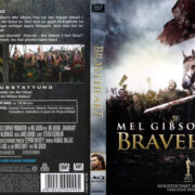 Braveheart (1995) R2 German Custom Blu-Ray Cover & Label