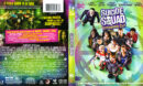 Suicide Squad (2016) R1 Blu-Ray Cover & Labels