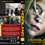 Homeland – Season 5 (2017) R1 Custom Cover & Labels