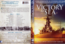 VICTORY AT SEA (1952) R1 DVD Cover