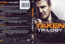 TAKEN TRILOGY (2015) R1 DVD Cover