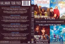 4 FILMS HALLMARK ENTERTAINMENT COLLECTOR'S SET (2009) R1 DVD Cover