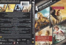 4 FILM FAVORITES EPIC ADVENTURES COLLECTION (2011) R1 DVD Cover