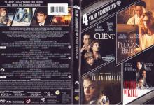 4 FILM FAVORITES JOHN GRISHAM (2013) R1 DVD Cover