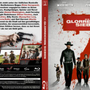Die Glorreichen Sieben (2016) R2 German Custom Blu-Ray Cover & label