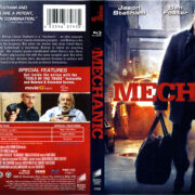 The Mechanic (2010) R1 Blu-Ray Cover & Label