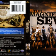 The Magnificent Seven (1960) R1 Blu-Ray Cover & Label