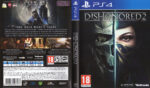 Dishonored 2 (2016) PAL PS4 Cover & Label
