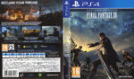 Final Fantasy XV (2016) PAL PS4 Cover & Label