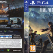Final Fantasy XV (2016) PAL PS4 Cover & Label