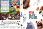 The Secret Life of Pets (2016) R1 Custom V2 Cover & Label