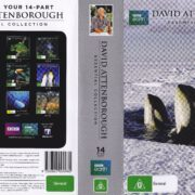 David Attenborough - Essential Collection 14 Disc Set (2014) R2 Cover & Labels