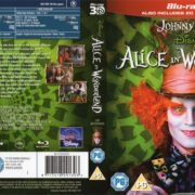 Alice In Wonderland 3D (2010) R2 Blu-Ray Cover & labels