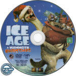 Ice Age: A Mammoth Christmas (2011) R4 DVD Label