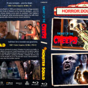 Night of the Creeps / The Monster Squad Double Feature (1986-1987) R1 Custom Blu-Ray Cover
