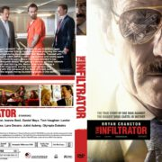 The Infiltrator (2016) R0 CUSTOM DVD Cover