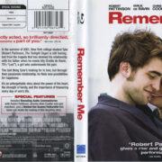 Remember Me (2010) R1 Blu-Ray Cover & Label