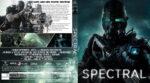 Spectral (2016) R2 German Custom Blu-Ray Cover & labels