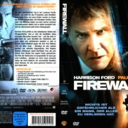 Firewall (2006) R2 German Cover & Label