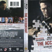 The Accountant (2016) R1 Blu-Ray Cover & Labels