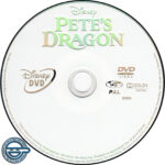 Pete's Dragon (2016) R4 DVD Label