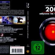 2001: Odyssee im Weltraum (1968) R2 German Custom Blu-Ray Cover