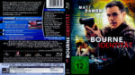Die Bourne Identität (2002) R2 German Blu-Ray Cover