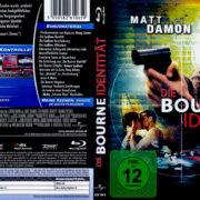 Die Bourne Identität (2002) R2 German Blu-Ray Cover