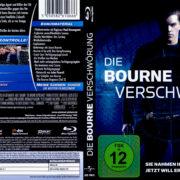 Die Bourne Verschwörung (2004) R2 German Blu-Ray Cover