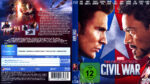 The First Avenger: Civil War (2016) R2 German Blu-Ray Cover