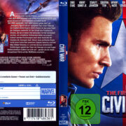 The First Avenger: Civil War (2016) R2 German Blu-Ray Cover