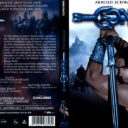 Conan, der Barbar (1982) R2 German Blu-Ray Covers