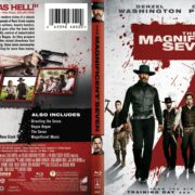 The Magnificent Seven (2016) R1 Custom Blu-Ray Covers